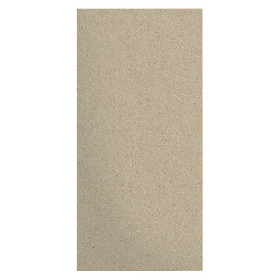 Transolid Decor Matrix Sand Shower Wall Surround Side Panel (Common: 0.25-in x 38-in; Actual: 96-in x 0.25-in x 38-in)