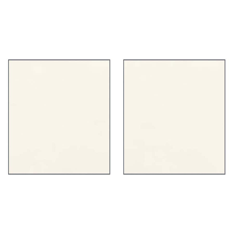 Transolid Decor Cameo/Cream Shower Wall Surround Side Panel (Common: 0.25-in x 38-in; Actual: 96-in x 0.25-in x 38-in)