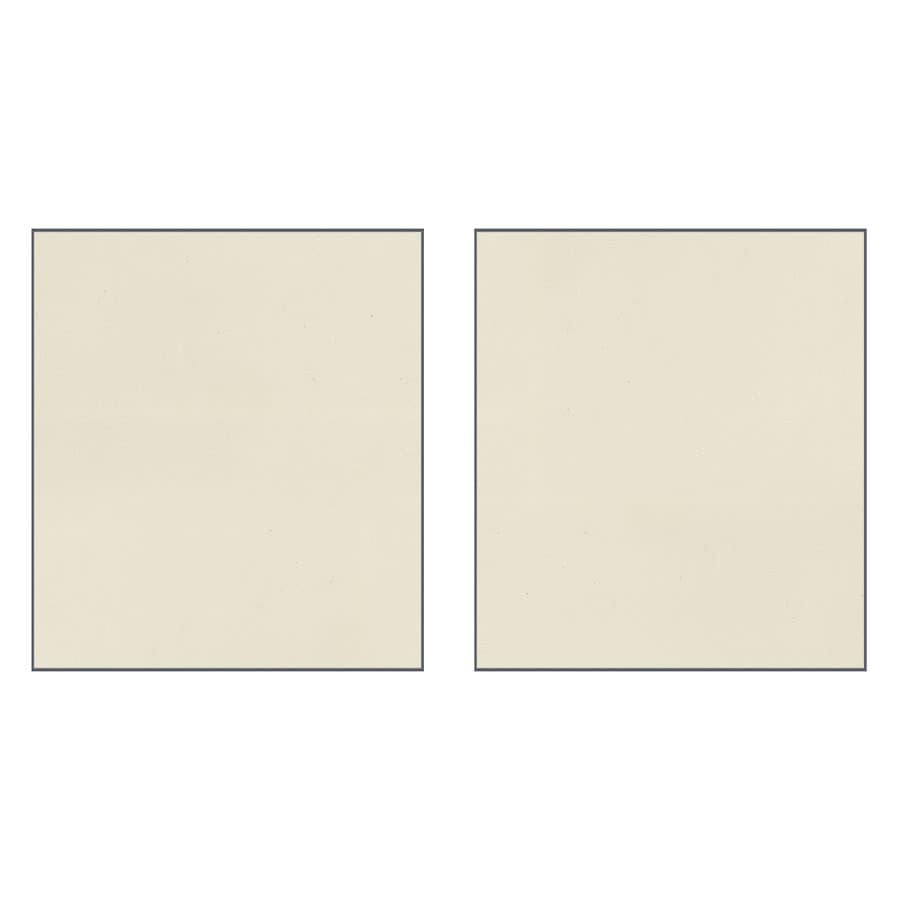 Transolid Decor Biscuit/Buff Shower Wall Surround Side Panel (Common: 0.25-in x 38-in; Actual: 96-in x 0.25-in x 38-in)