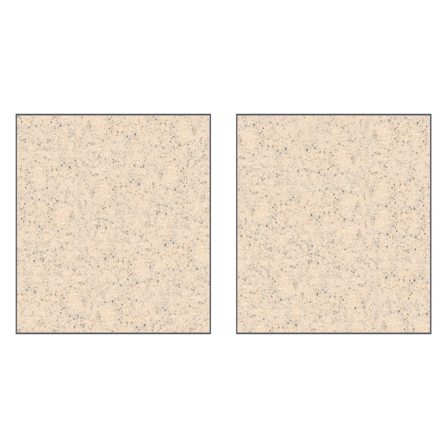 Transolid Decor Matrix Khaki/Sunset Sand Shower Wall Surround Side Panel (Common: 0.25-in x 38-in; Actual: 96-in x 0.25-in x 38-in)