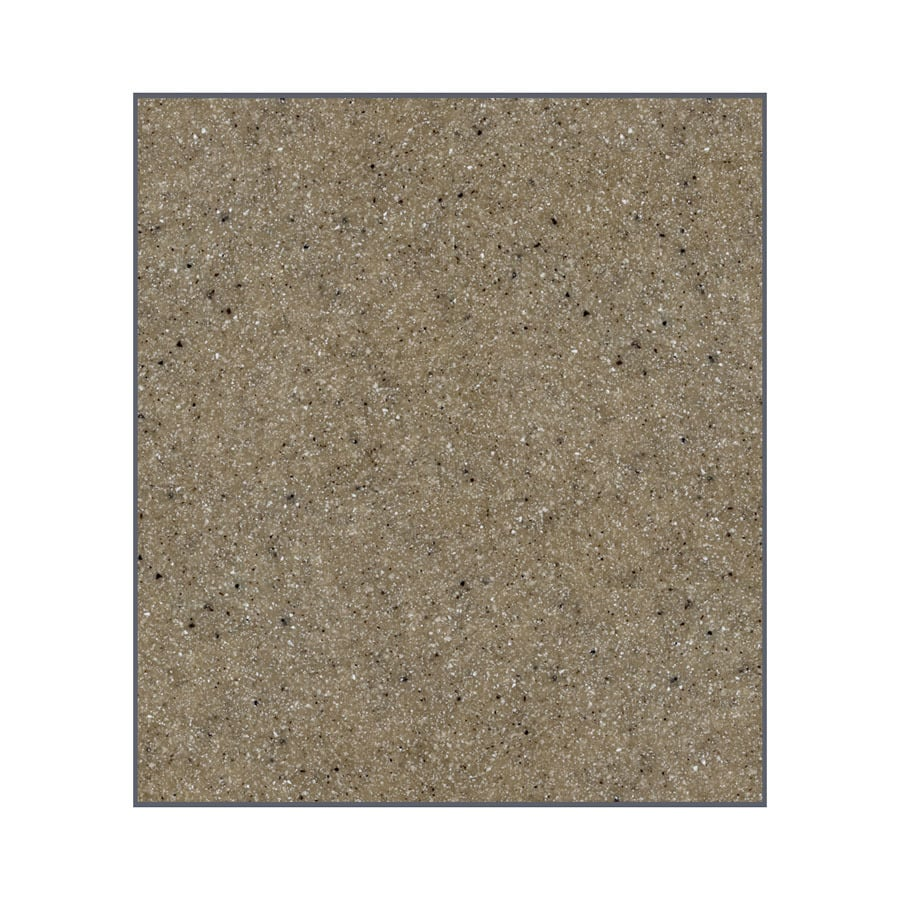 Transolid Decor Matrix Sand Shower Wall Surround Side Panel (Common: 0.25-in x 48-in; Actual: 72-in x 0.25-in x 48-in)