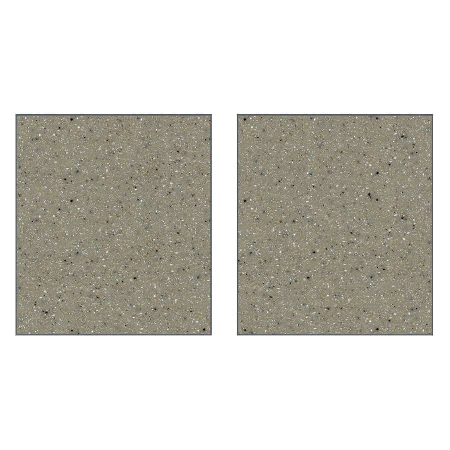 Transolid Decor Desert Earth Shower Wall Surround Side Panel (Common: 0.25-in x 48-in; Actual: 72-in x 0.25-in x 48-in)