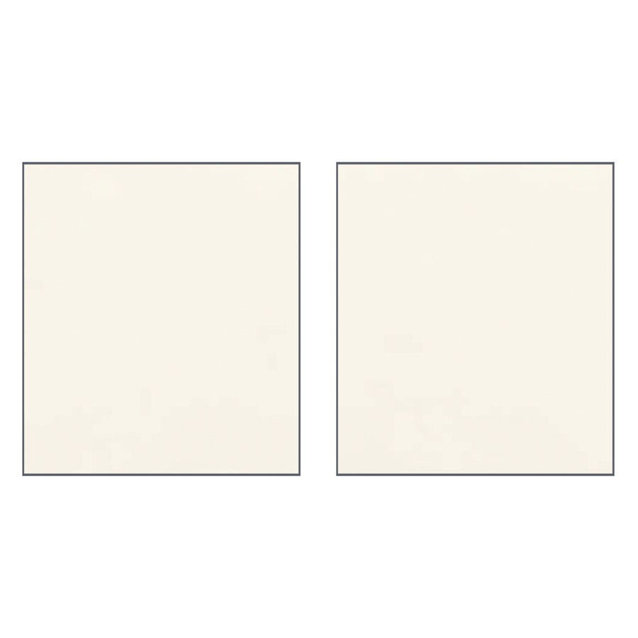 Transolid Decor Cameo/Cream Shower Wall Surround Side Panel (Common: 0.25-in x 48-in; Actual: 72-in x 0.25-in x 48-in)