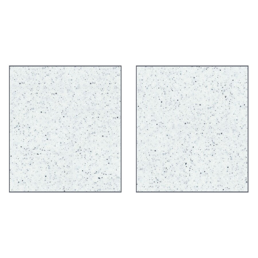 Transolid Decor Matrix White Shower Wall Surround Side Wall Panel Kit (Common: 0.25-in x 48-in; Actual: 72-in x 0.25-in x 48-in)
