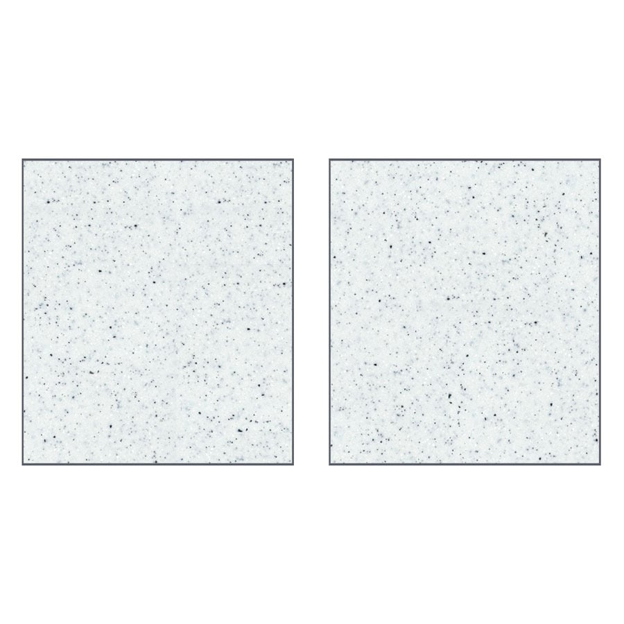 Transolid Decor Matrix White/Speckled White Shower Wall Surround Side Panel (Common: 0.25-in x 48-in; Actual: 72-in x 0.25-in x 48-in)