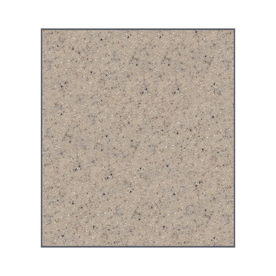 Transolid Decor Sand Castle Shower Wall Surround Side Panel (Common: 0.25-in x 48-in; Actual: 96-in x 0.25-in x 48-in)