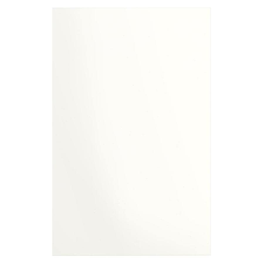 Transolid Decor White Shower Wall Surround Side Wall Panel Kit (Common: 0.25-in x 48-in; Actual: 96-in x 0.25-in x 48-in)