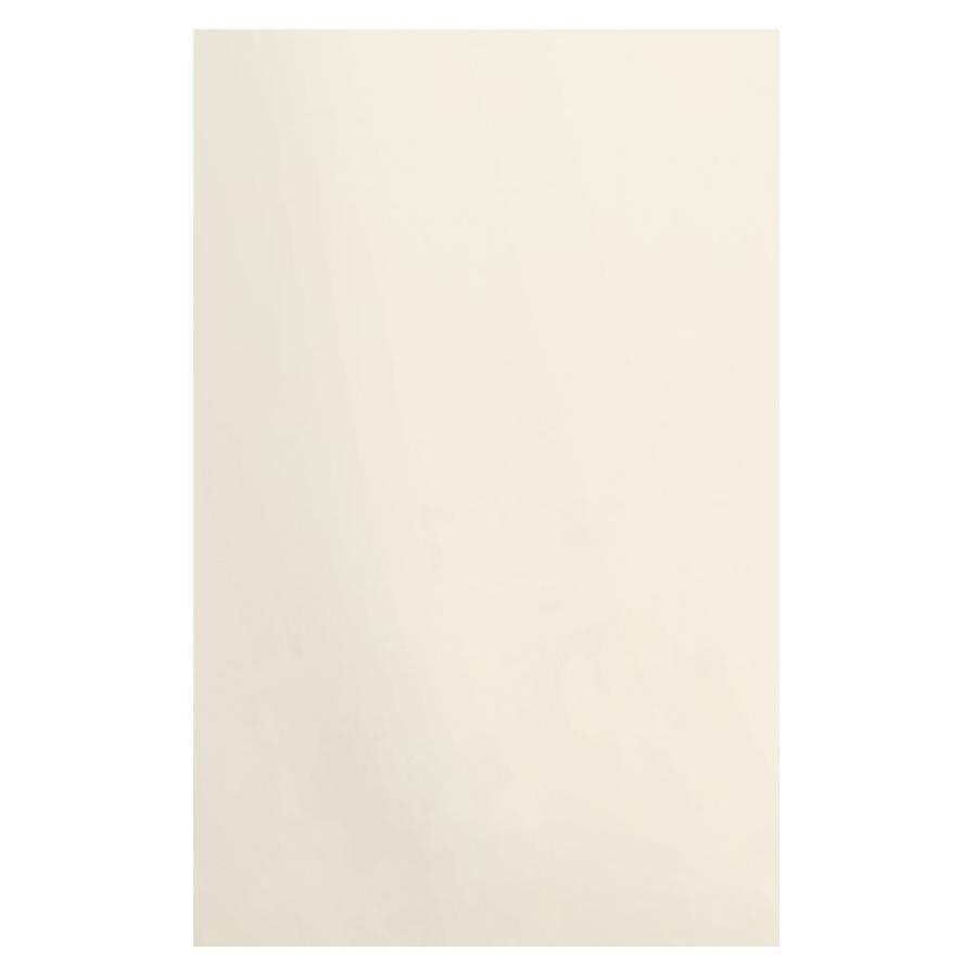 Transolid Decor Cameo/Cream Shower Wall Surround Side Panel (Common: 0.25-in x 48-in; Actual: 96-in x 0.25-in x 48-in)