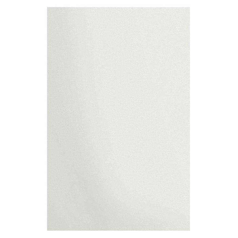Transolid Decor Matrix White/Speckled White Shower Wall Surround Side Panel (Common: 0.25-in x 48-in; Actual: 96-in x 0.25-in x 48-in)