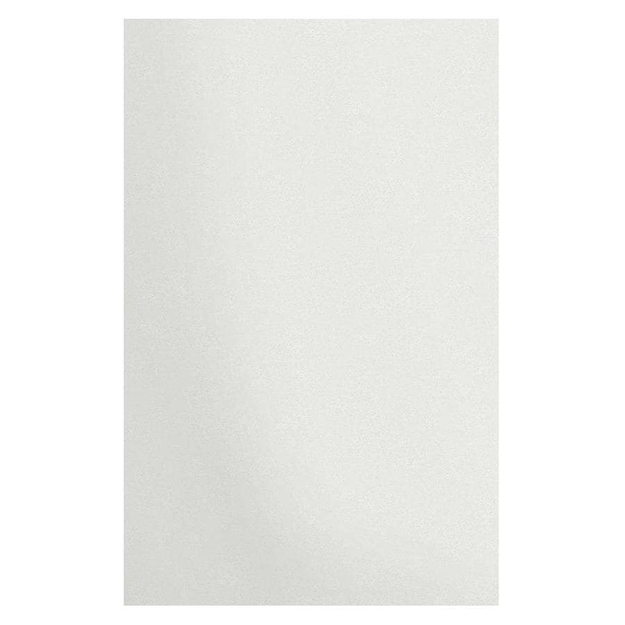 Transolid Decor Matrix White Shower Wall Surround Side Wall Panel Kit (Common: 0.25-in x 48-in; Actual: 96-in x 0.25-in x 48-in)
