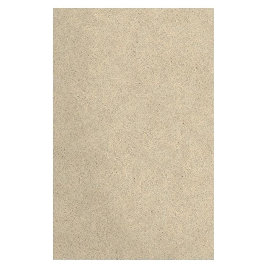 Transolid Decor Matrix Khaki/Sunset Sand Shower Wall Surround Side Panel (Common: 0.25-in x 48-in; Actual: 96-in x 0.25-in x 48-in)