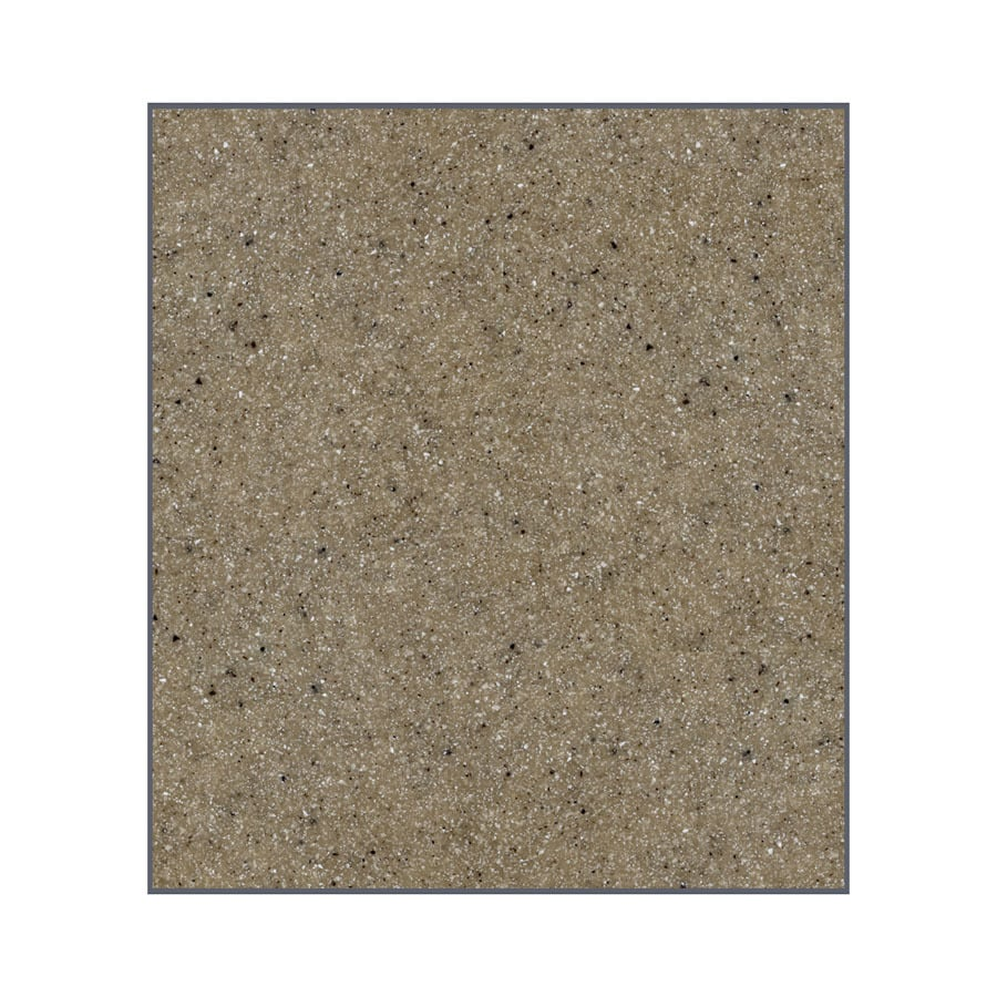 Transolid Decor Matrix Sand Shower Wall Surround Back Panel (Common: 0.25-in x 60-in; Actual: 60-in x 0.25-in x 60-in)