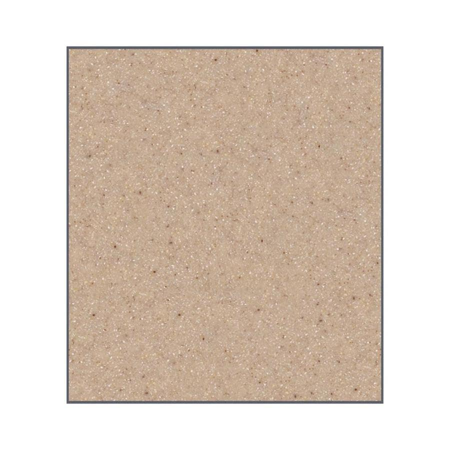 Transolid Decor Sand Castle Shower Wall Surround Back Wall Panel (Common: 0.25-in x 60-in; Actual: 60-in x 0.25-in x 60-in)