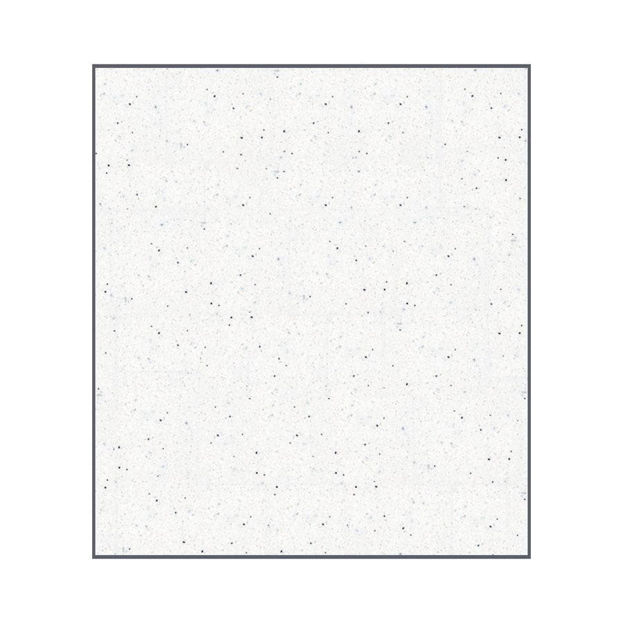 Transolid Decor Matrix Summit/Alabaster Shower Wall Surround Back Panel (Common: 0.25-in x 60-in; Actual: 72-in x 0.25-in x 60-in)