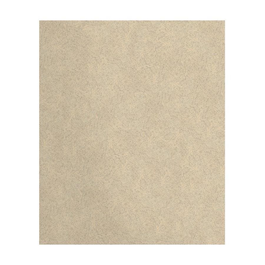 Transolid Decor Matrix Khaki Shower Wall Surround Back Wall Panel (Common: 0.25-in x 60-in; Actual: 72-in x 0.25-in x 60-in)