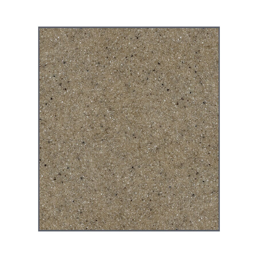 Transolid Decor Matrix Sand Shower Wall Surround Back Panel (Common: 0.25-in x 60-in; Actual: 72-in x 0.25-in x 60-in)