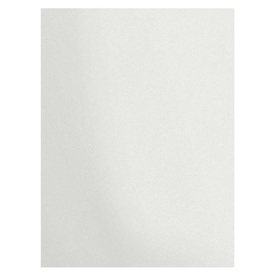 Transolid Decor Matrix White Shower Wall Surround Back Wall Panel (Common: 0.25-in x 60-in; Actual: 96-in x 0.25-in x 60-in)