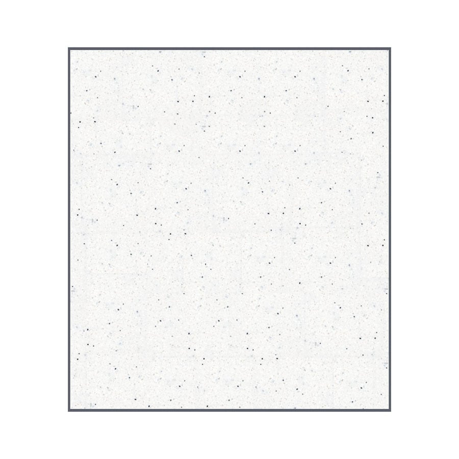 Transolid Decor Matrix Summit/Alabaster Shower Wall Surround Back Panel (Common: 0.25-in x 60-in; Actual: 96-in x 0.25-in x 60-in)