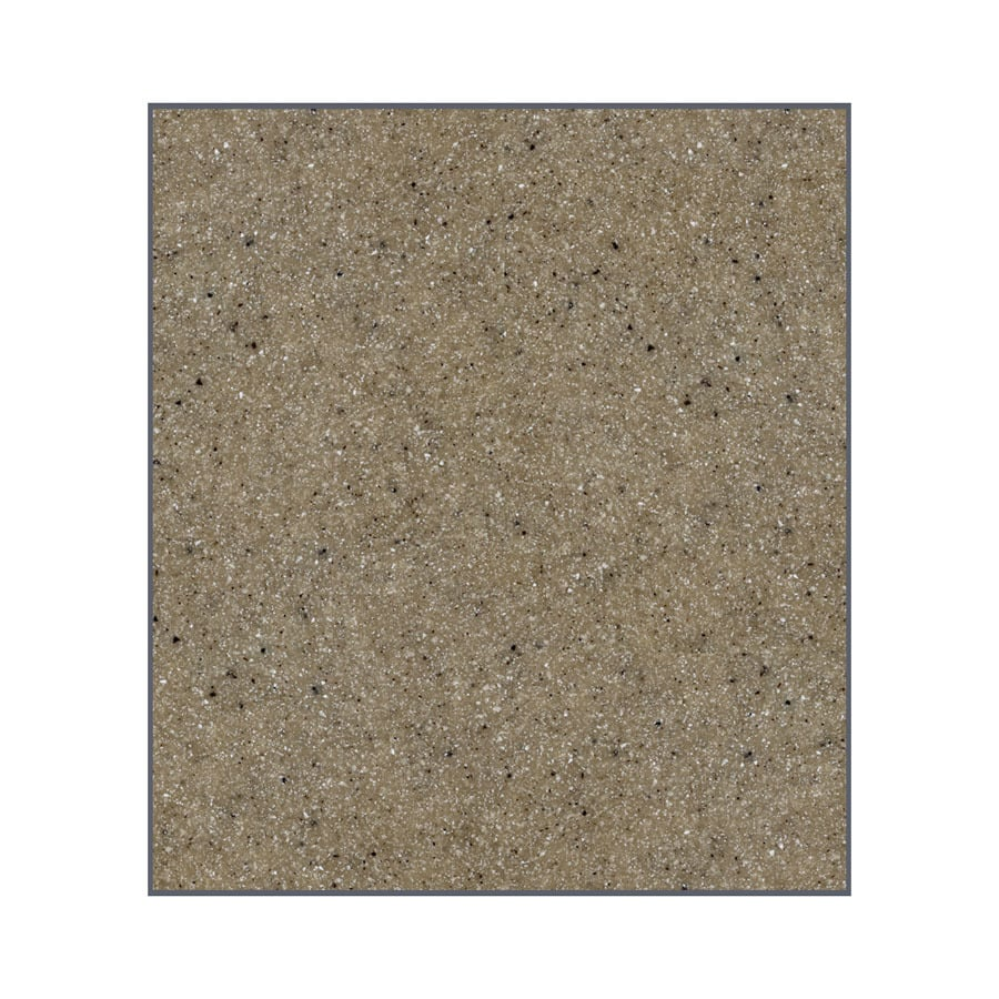 Transolid Decor Matrix Sand Shower Wall Surround Back Panel (Common: 0.25-in x 60-in; Actual: 96-in x 0.25-in x 60-in)