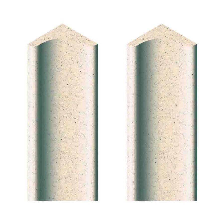 Transolid Decor Matrix Khaki Sand Shower Wall Corner Cove Piece