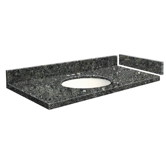 Transolid 43 In Tempest Quartz Single Sink Bathroom Vanity Top In The Bathroom Vanity Tops Department At Lowes Com