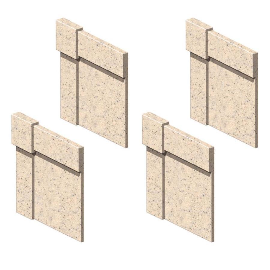 Transolid Matrix Khaki Shower Wall Trim-Piece