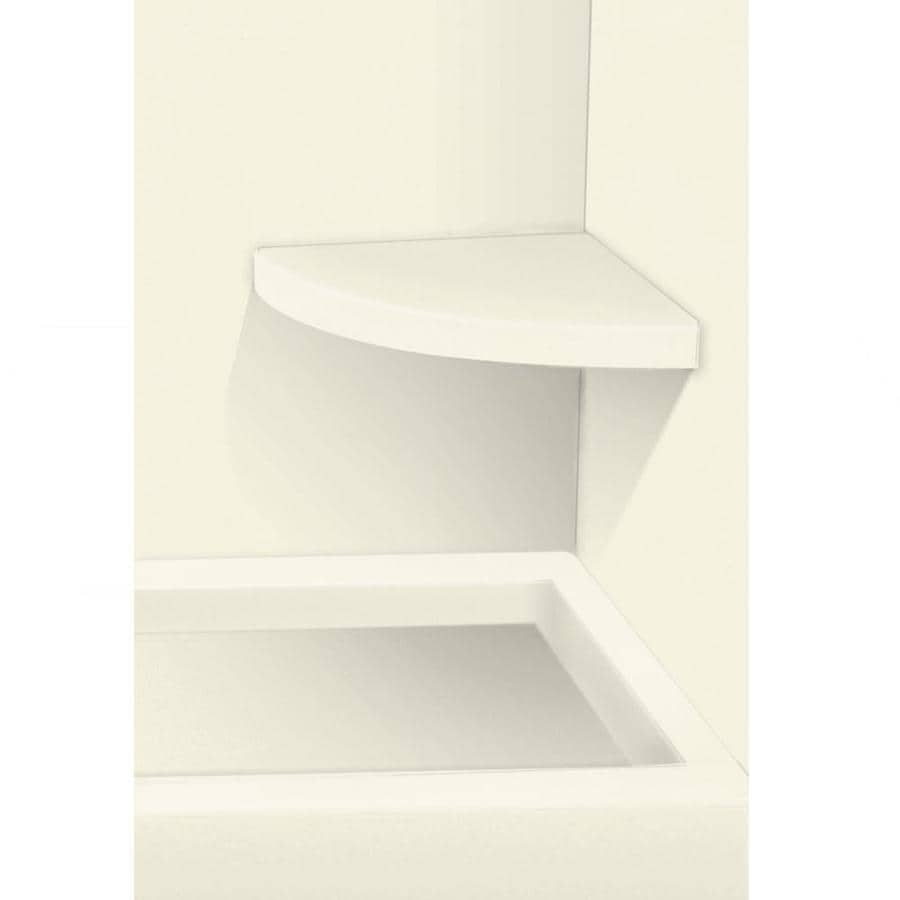 Transolid Decor Biscuit Solid Surface Wall Mount Shower Seat