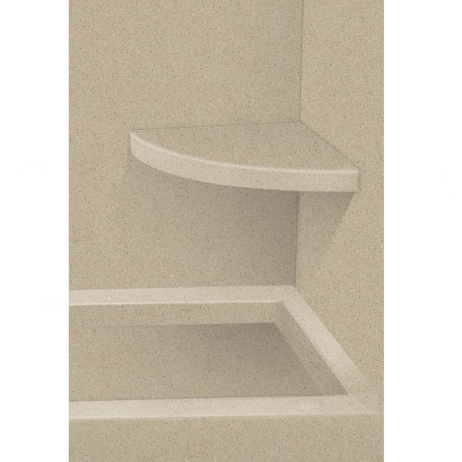 Transolid Decor Matrix Sand Solid Surface Wall Mount Shower Seat