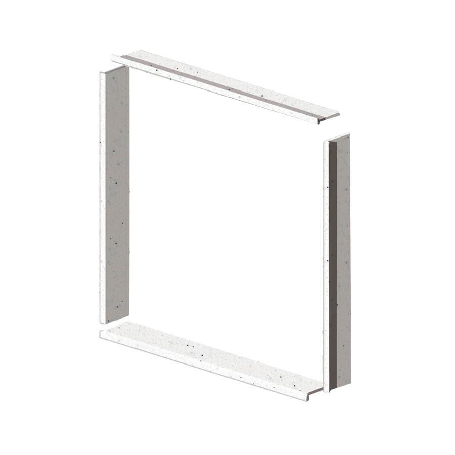 Transolid Decor Matrix Summit Shower Wall Window Trim Kit