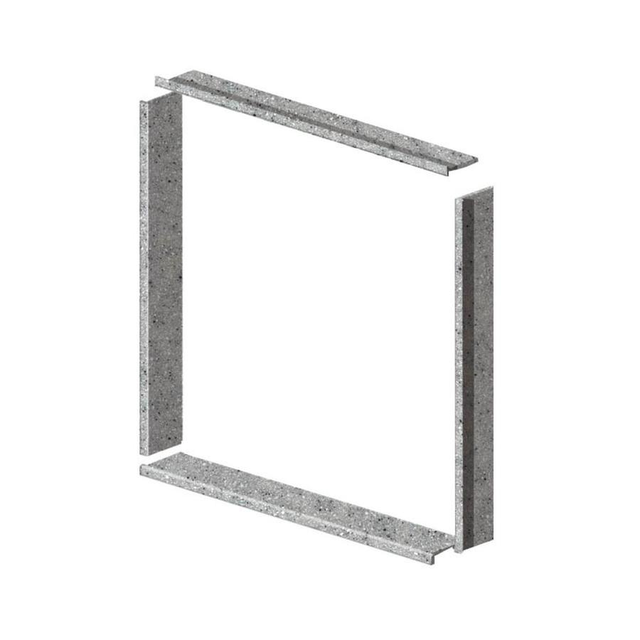 Transolid Decor Matrix Dusk Shower Wall Window Trim Kit