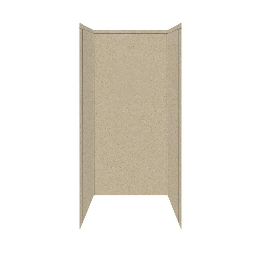 Transolid Decor Matrix Sand Shower Wall Surround Side and Back Panels (Common: 32-in x 32-in; Actual: 72-in x 32-in x 32-in)
