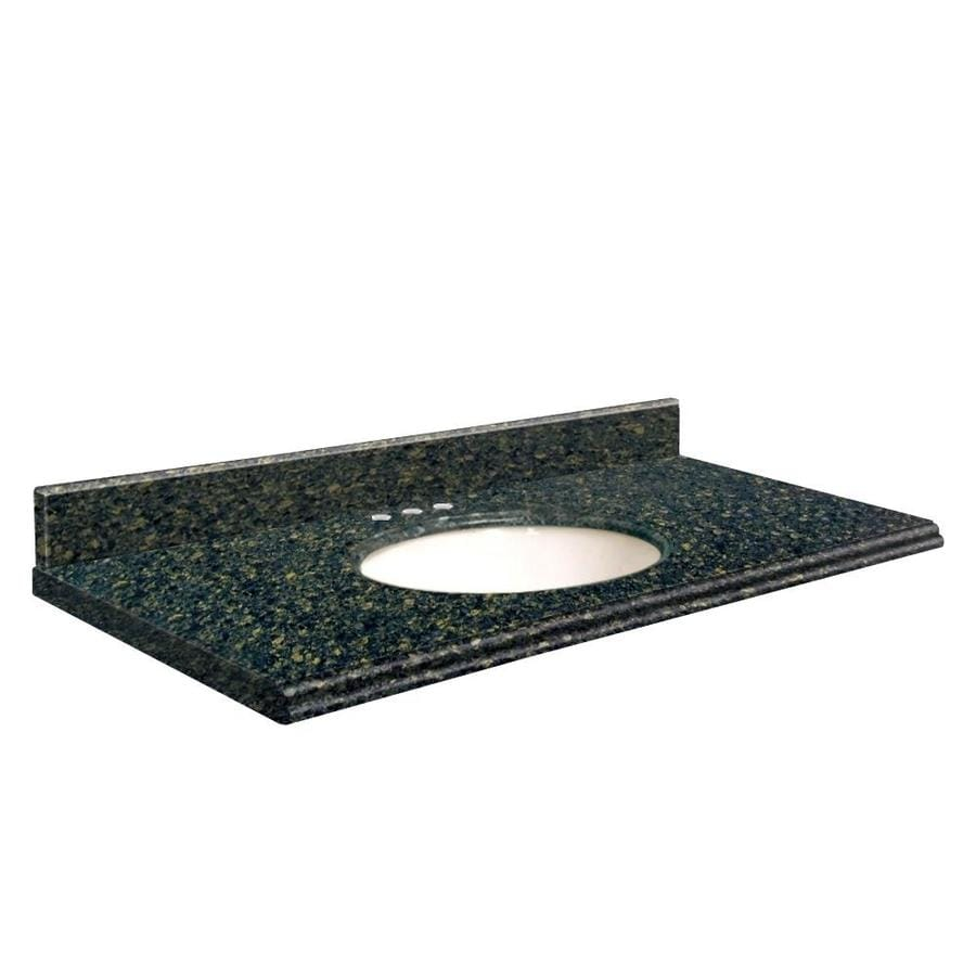 Transolid Manchester Square Quartz Undermount Single Bathroom Vanity Top (Common: 25-in x 22-in; Actual: 25-in x 22-in)