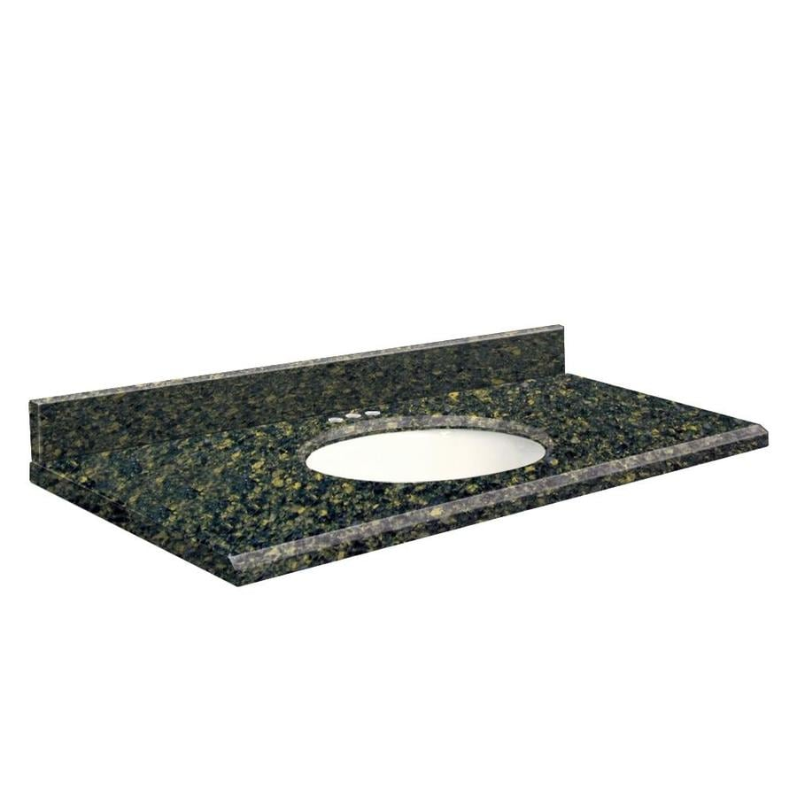 Transolid Manchester Square Quartz Undermount Single Sink Bathroom Vanity Top (Common: 37-in x 22-in; Actual: 37-in x 22-in)