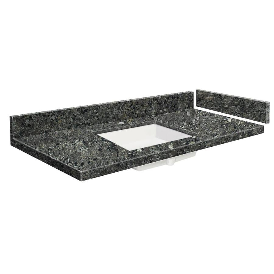 Transolid 55 In Tempest Quartz Single Sink Bathroom Vanity Top In The Bathroom Vanity Tops Department At Lowes Com