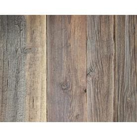 GRANGE Design Grange 2 In X Variable Length 6.5 Ft Rustic Brown Wall Plank