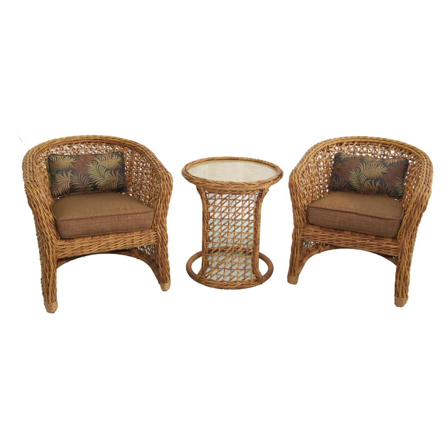 Allen Roth 3 Piece Highcroft Patio Furniture SetShop Allen Roth 3 Piece  Highcroft Patio Furniture Set At Lowes Com