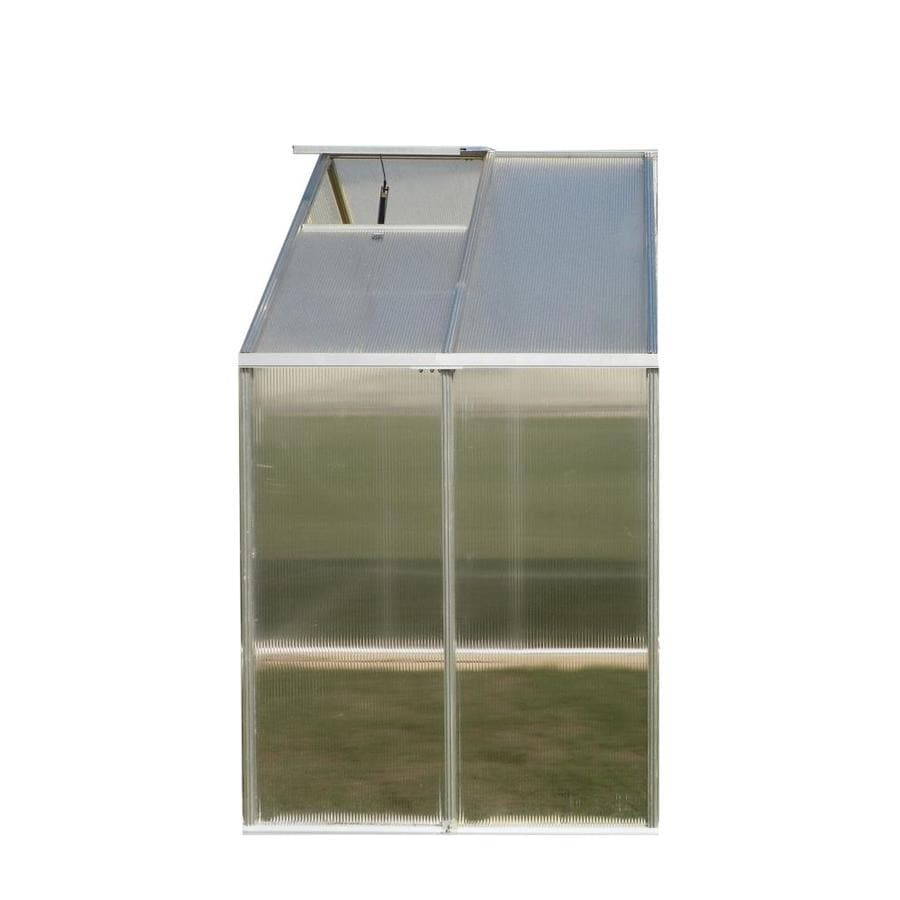 Monticello 4-ft L x 8.1-ft W x 7.6-ft H Metal Greenhouse