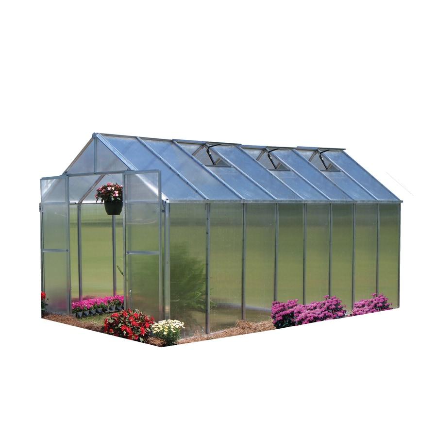 Portable Greenhouse Kits Lowe S : Shop monticello ft l w h metal
