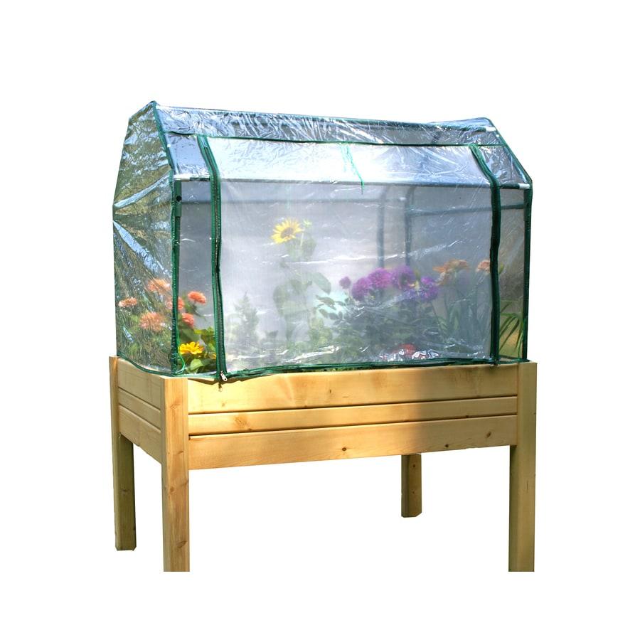 Eden 2-ft L x 3-ft W x 4.8-ft H Greenhouse