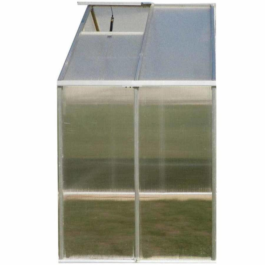 Monticello 4.1-ft L x 8.1-ft W x 7.6-ft H Metal Polycarbonate Greenhouse