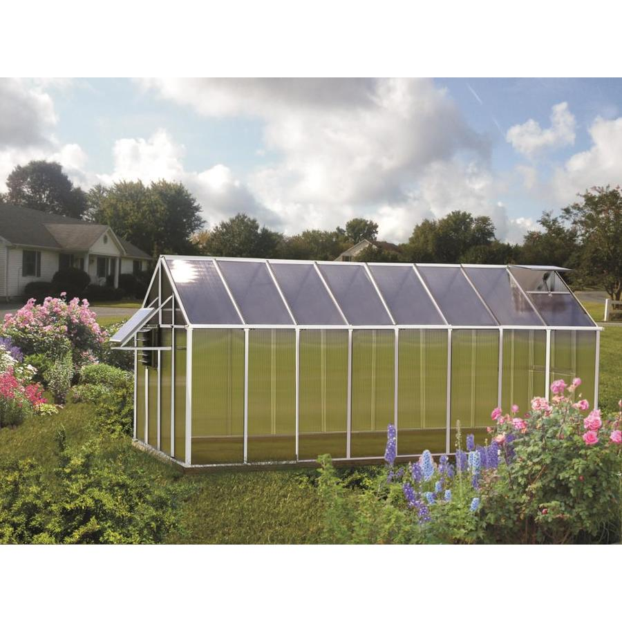 Monticello 16.3-ft L x 8.1-ft W x 7.6-ft H Greenhouse