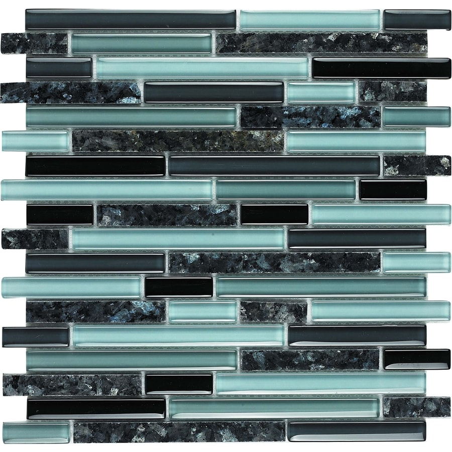 Epoch Architectural Surfaces Spectrum Multi Linear Mosaic Stone And Gl Granite Wall Tile Common