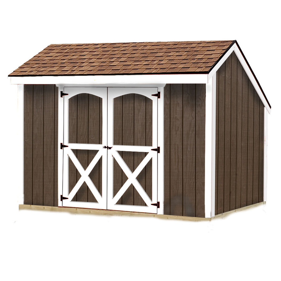 Best Barns Aspen Without Floor Saltbox Engineered Wood Storage Shed  (Common: 8 Ft
