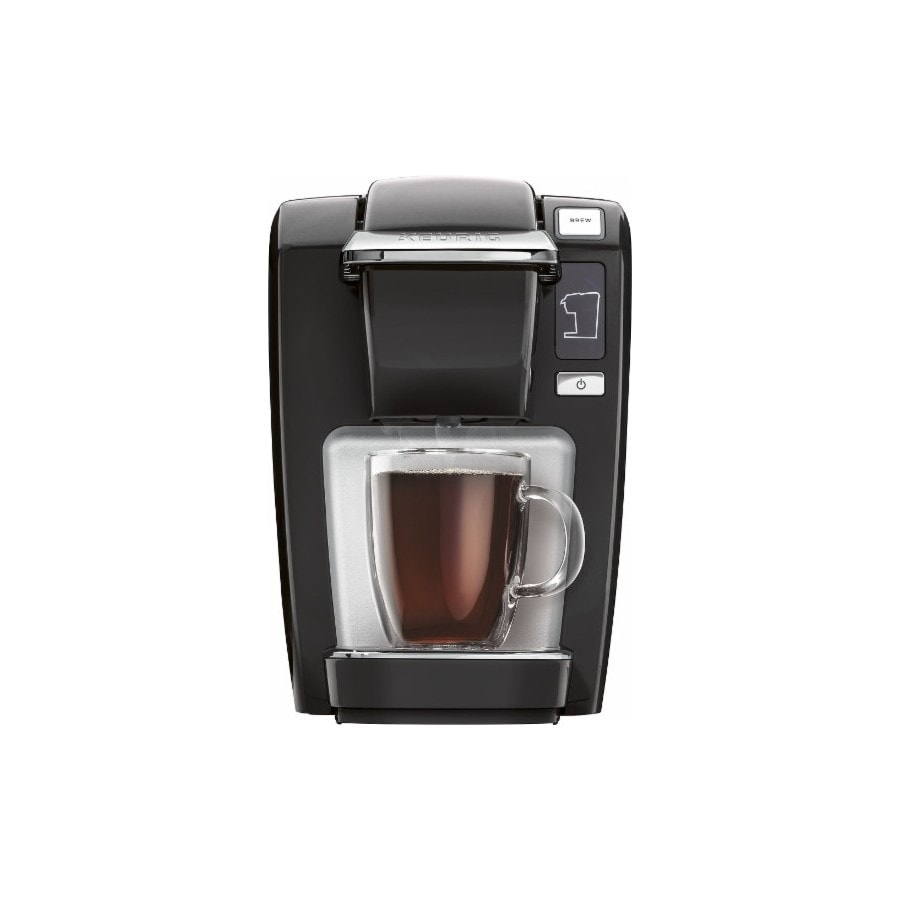 Keurig Coffee Maker Single Cup : Shop Keurig Black Programmable Single-Serve Coffee Maker at Lowes.com
