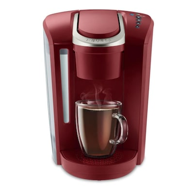 K-Select Red Programmable Single-Serve Coffee Maker