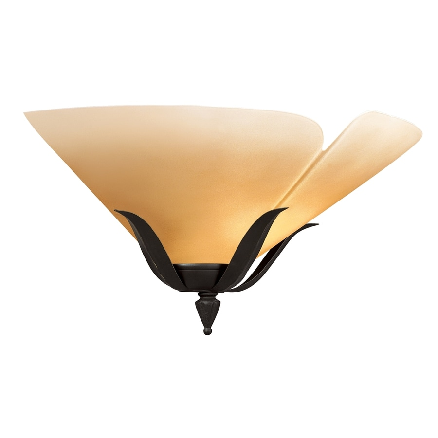 Portfolio 16-in W 1-Light Bronze Pocket Wall Sconce