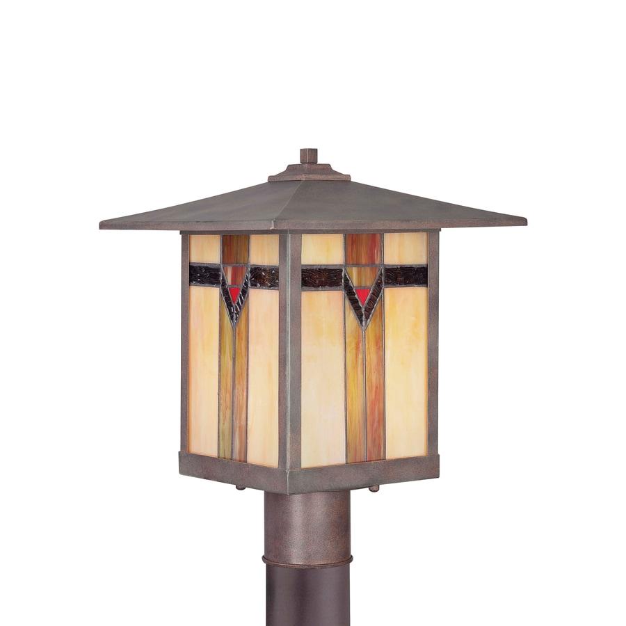Shop allen roth vistora 149 in h bronze post light at lowes allen roth vistora 149 in h bronze post light arubaitofo Image collections