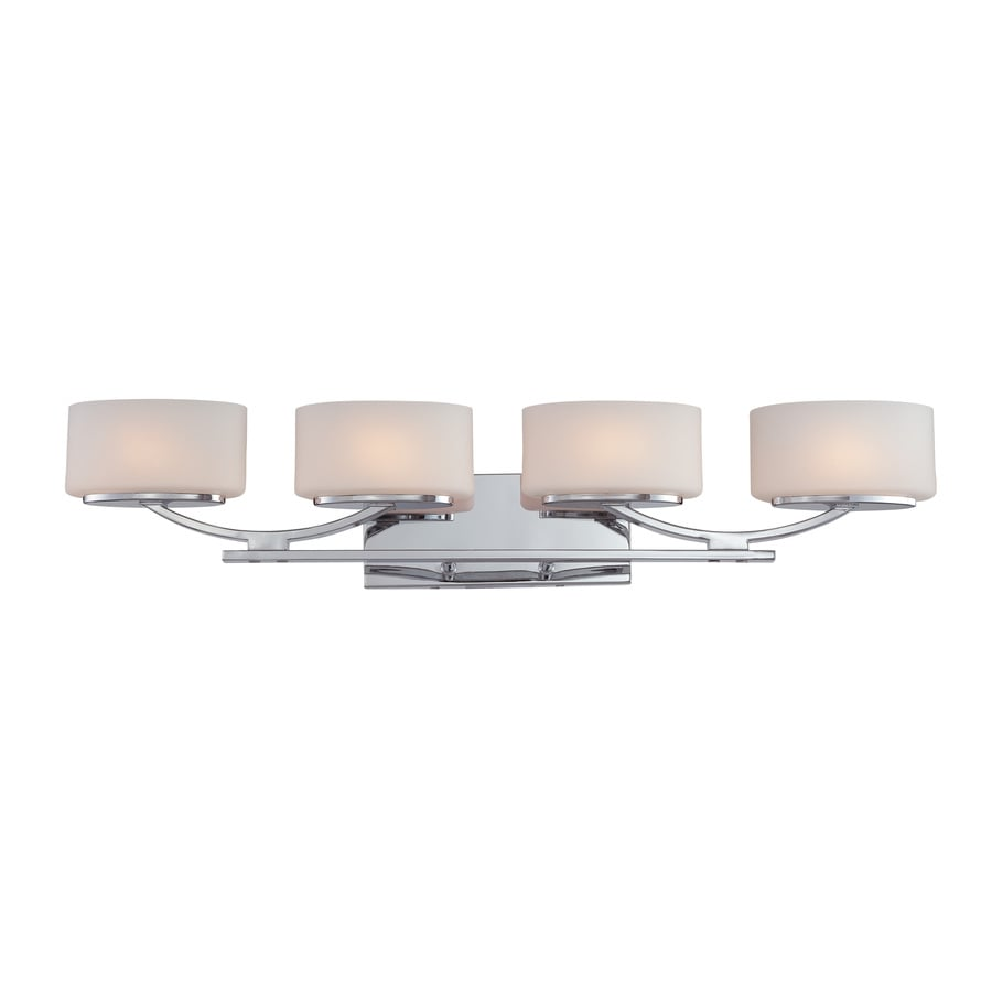 Ashley Harbour 4-Light Polished Chrome Vanity Light