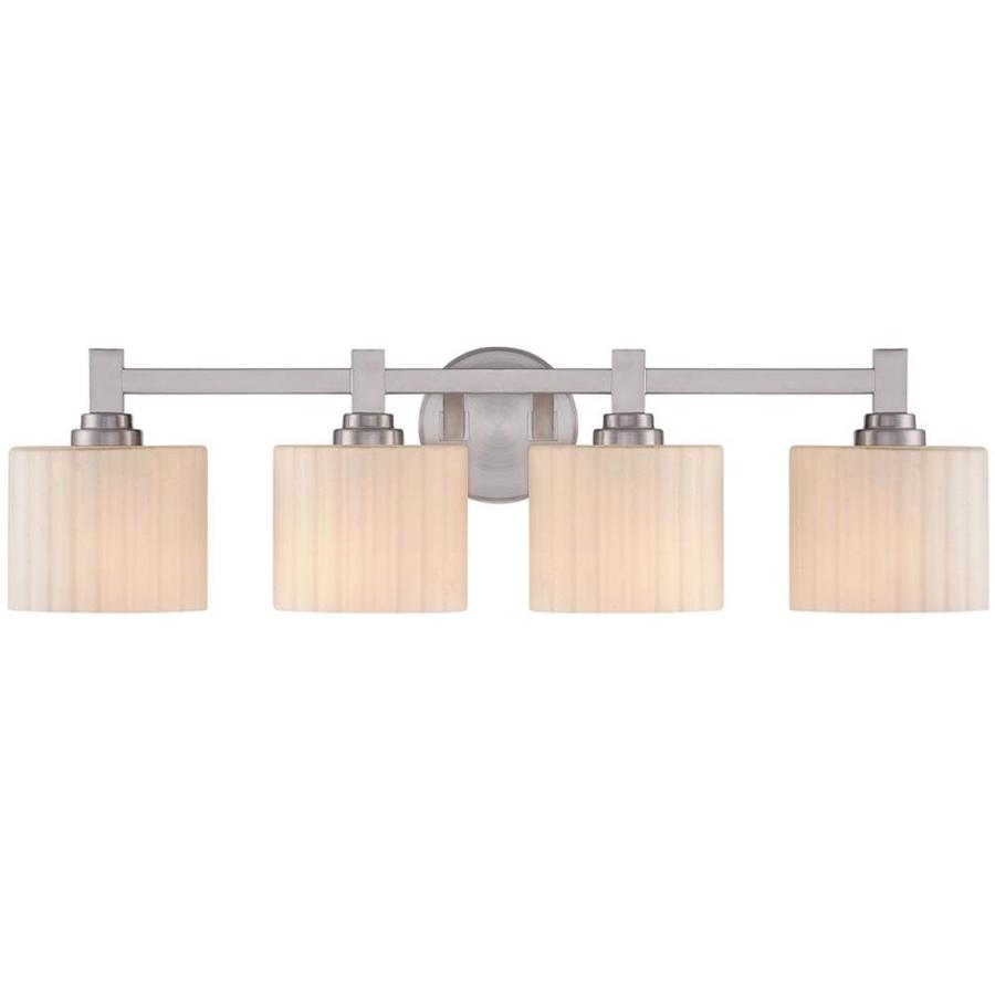 Vanity Light No Stud : Shop Ardeth 4-Light 8-in Brushed Nickel Vanity Light at Lowes.com