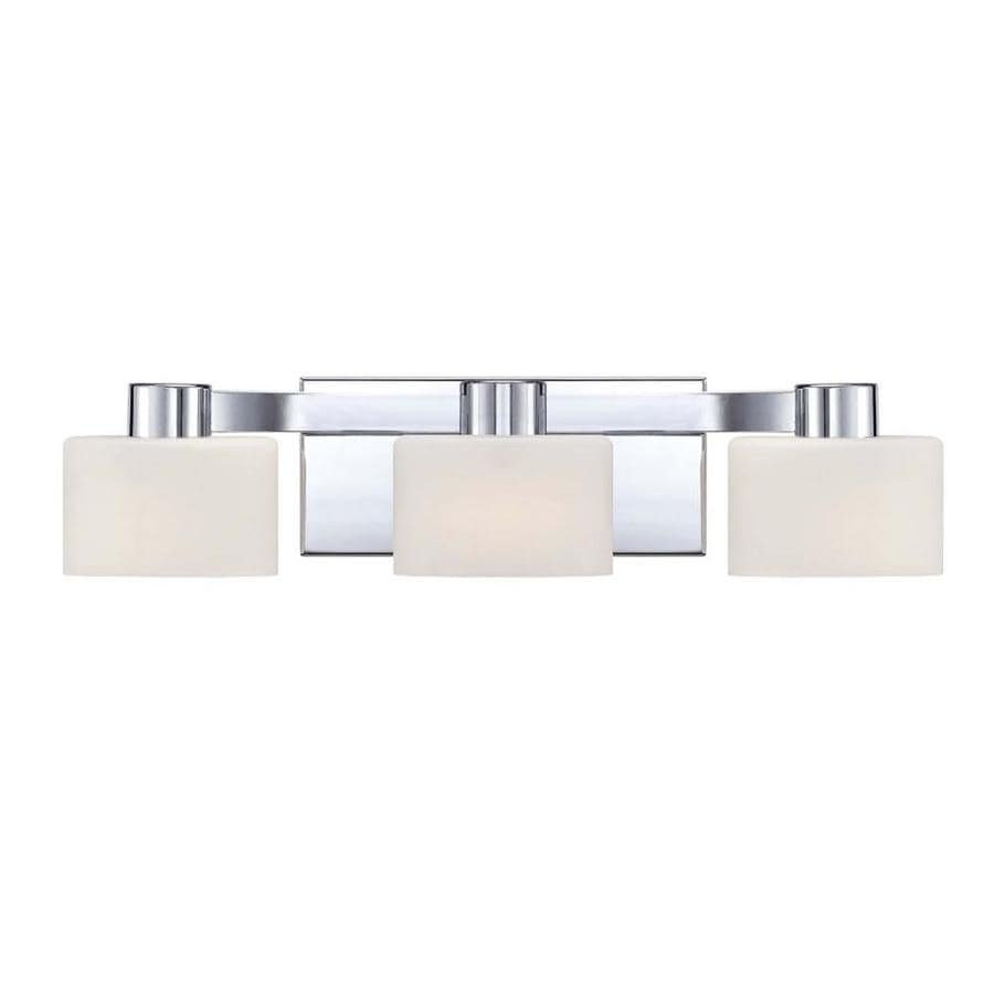 Lannister 3-Light 5-in Polished Chrome Vanity Light